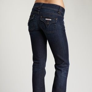Hudson Blue Dark Wash Signature Bootcut Jeans 27